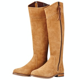 Dublin Kalmar SD Tall Ladies Country Boots - Stone