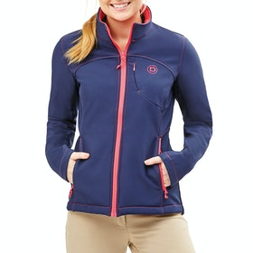 Dublin Sachi Ladies Softshell Jacket - Navy Poppy