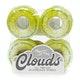 Ricta Clouds Green Swirl 78a 52mm Skateboard Wheel