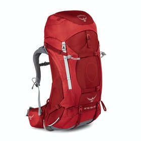 Osprey Ariel 55 Womens Hiking Backpack - Picante Red