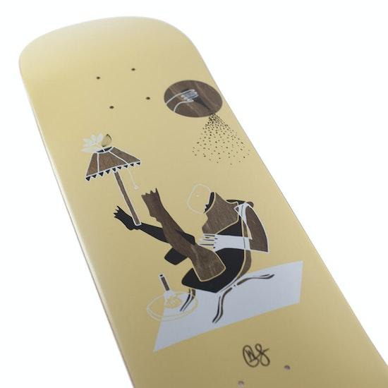 Magenta Ceremony Series Glen Fox Lounge Skateboard Deck