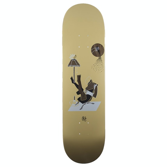 Magenta Ceremony Series Glen Fox Lounge Skateboard Deck