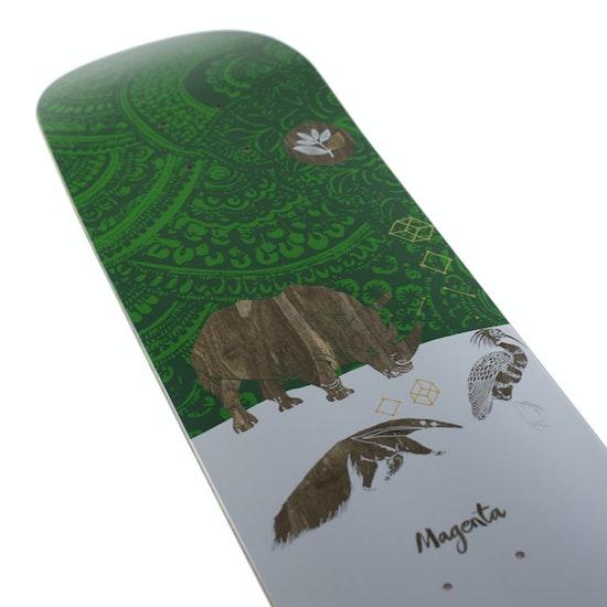 Magenta Ceremony Series Rhino Skateboard-Deck