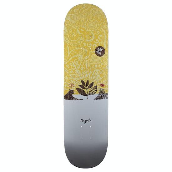 Magenta Ceremony Series Sacred Plant Skateboard Deck