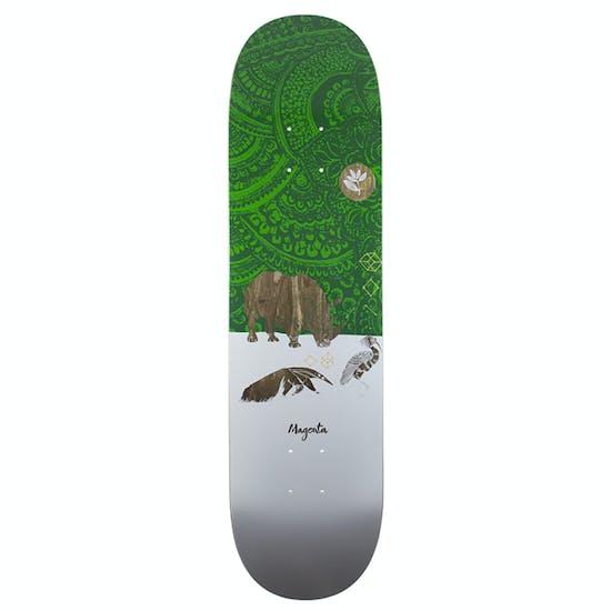 Magenta Ceremony Series Rhino Skateboard Deck