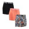 Bjorn Borg La Lemon 3 Pack Boxer Shorts - Grey Melange
