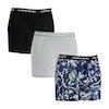 Bjorn Borg Fleurs De Jardin Sammy 3 Pack Boxer Shorts - Deep Cobalt