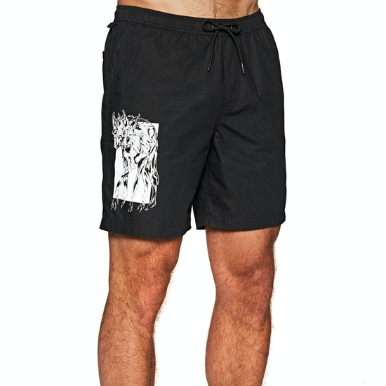 Welcome Soft Core Printed Elastic Shorts