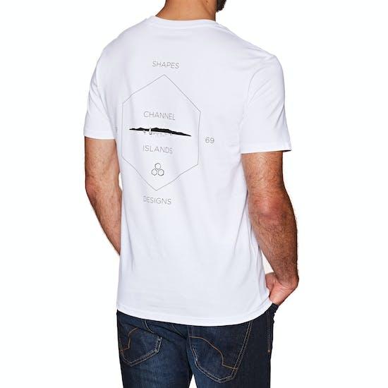 Channel Islands Hand Made Pocket Mens Short Sleeve T-Shirt