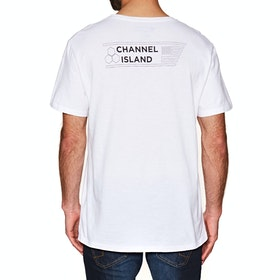 Channel Islands Shapes Design Short Sleeve T-Shirt - White