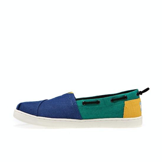Toms Bimini Nautical Kids Dress Shoes