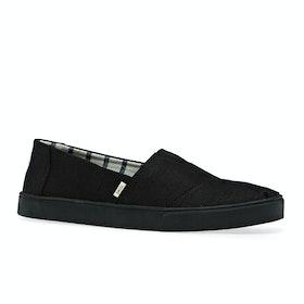 Scarpe Slip On Toms Alpargata Cupsole - Black Black