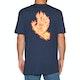 T-Shirt à Manche Courte Santa Cruz Flame Hand