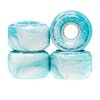 Ricta Clouds Teal Swirl 78a 54mm Skateboard Wheel - Teal Swirl