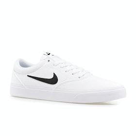 Chaussures Nike SB Charge Solarsoft - White Black Gum Light Brown