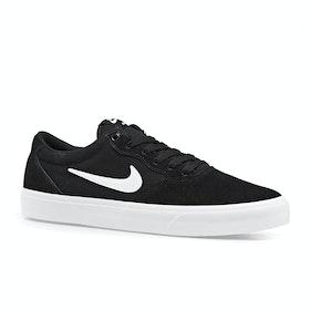 Chaussures Nike SB Chron Solarsoft - Black White