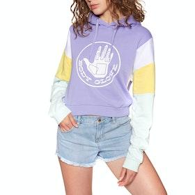 Pullover con Cappuccio Donna Body Glove Heritage Logo - Frosted Lavender