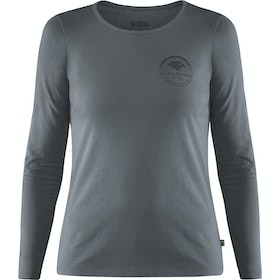 Fjallraven Forever Nature Badge Ladies Long Sleeve T-Shirt - Dusk