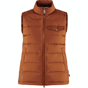 Fjallraven Greenland Down Liner Ladies Vest - Autumn Leaf