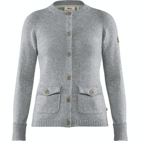Cardigan Fjallraven Greenland Re wool - Grey