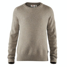 Fjallraven Greenland Re wool Crew Neck , Knits - Driftwood