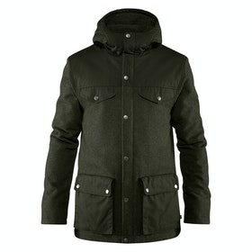 Fjallraven Greenland Re wool , Jakke - Deep Forest
