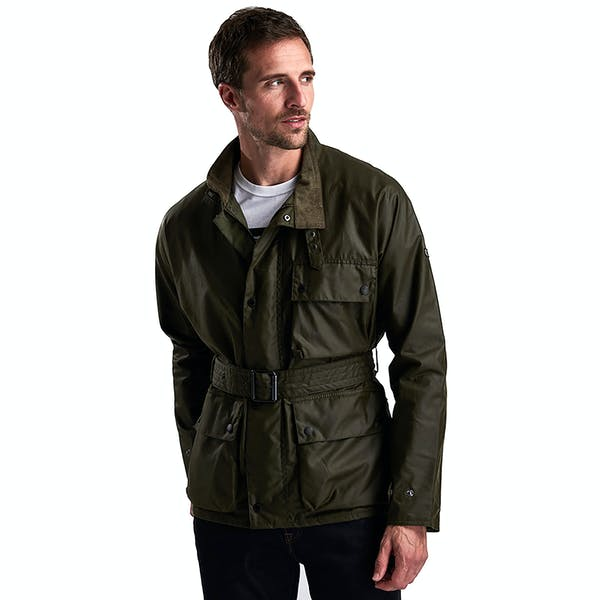 Barbour International Trajan Wax Jacket