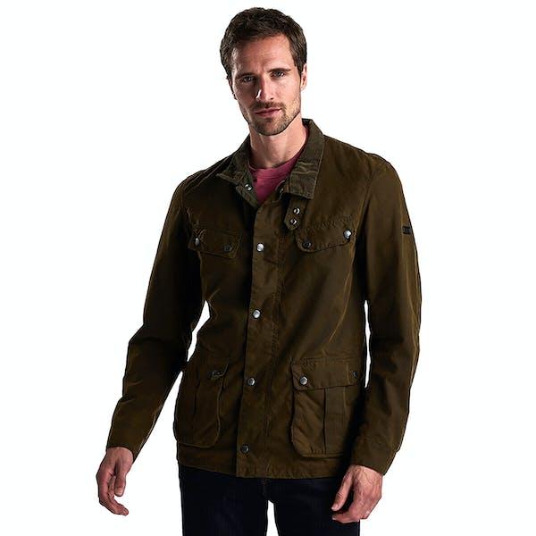 Barbour International Washed Duke Wax Jacket