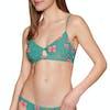 Billabong Seain Green Twist Bikini Top - Island Green