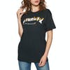 Thrasher Intro Burner Short Sleeve T-Shirt - Black