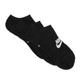 Chaussettes Nike SB Essential No Show 3 Pack - Black / White