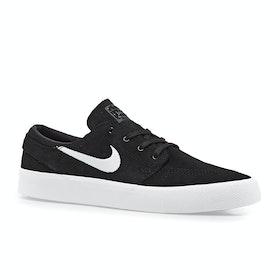 Chaussures Nike SB Zoom Janoski RM - Black White Thunder Grey Light Brown
