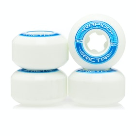 Roues de Skateboard Ricta Rapido Round 99a 53mm - White