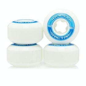 Ricta Rapido Round 99a 53mm Skateboard Wheel - White