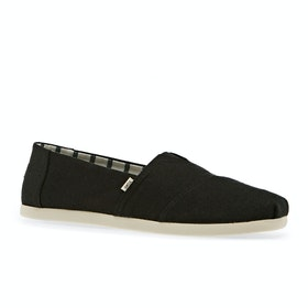 Обувь без шнурков Toms New Alpargata - Black Heritage Canvas