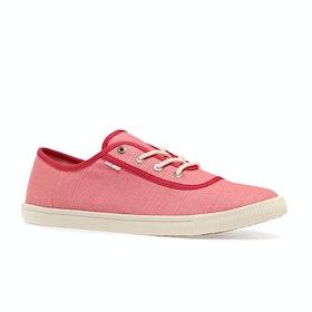 Scarpe Donna Toms Carmel Casual Sneaker - Strawberry Milkshake Heritage Canvas