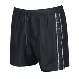Emporio Armani Woven Colour Block Swim Shorts - Nero