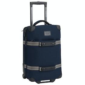 Burton Wheelie Flight Deck Gepäck - Dress Blue Waxed