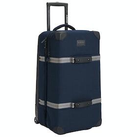 Burton Wheelie Double Deck Gepäck - Dress Blue Waxed