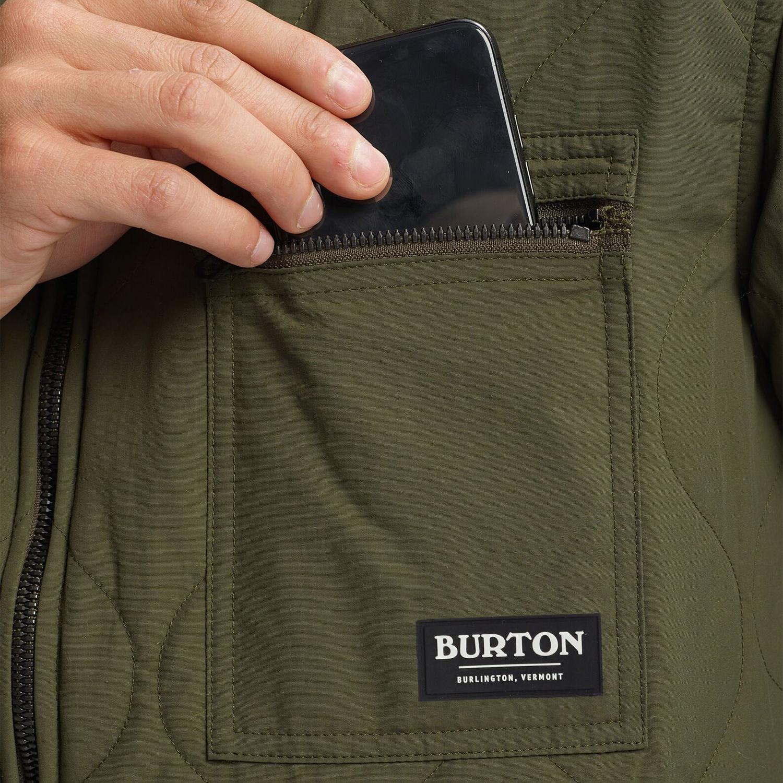 Burton Mallett Vindtæt jakke available from Blackleaf