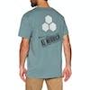 Channel Islands Hand Made Pocket Kurzarm-T-Shirt - Green
