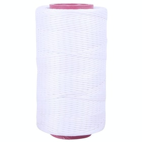 QHP Waxed Plaiting Thread - White