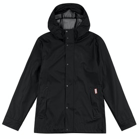 Hunter Original Rubberised Bomber Jacket - Black