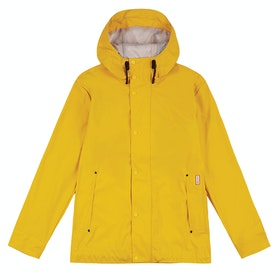 Hunter Original Rubberised Bomber Jacket - Yellow