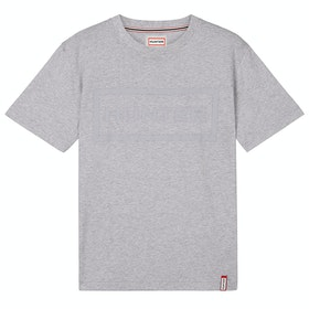 Hunter Original Damen Kurzarm-T-Shirt - Grey Marl