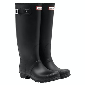 Hunter Original Tall Wide Ladies Wellington Boots - Black