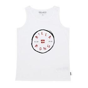 Billabong Rotohand Boys Tank Vest - White