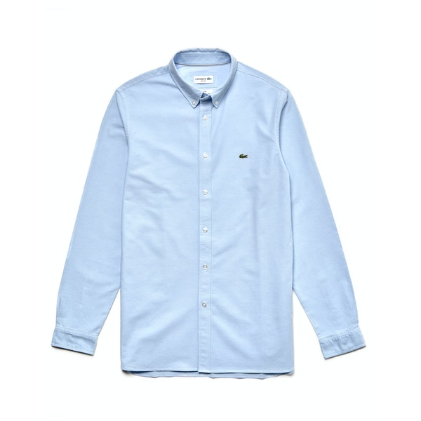 Lacoste Slim Fit Stretch Oxford Cotton Overhemd