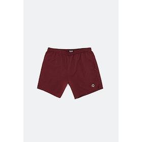 Magenta Short Shorts - Burgundy