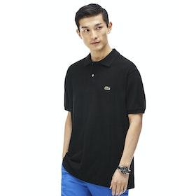 Lacoste L1212 Classic Premium Herren Polo-Shirt - Black
